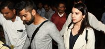 Anushka & Virat Kohli return from Cricket World cup in Australia