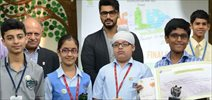 Arjun Kapoor At The Wild Wisdom Quiz Finale By WWF India