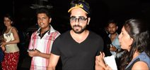 Ayushmann Khurrana snapped at the domestic airport