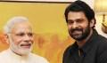 Prabhas meets Top Politicians