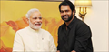 Prabhas meets Top Politicians