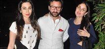 Kareena, Saif And Karishma Celebrate Babita Kapoor's Bday
