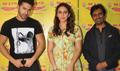 Varun Dhawan, Huma Qureshi & Nawazuddin Siddiqui @ Radio Mirchi for Badlapur