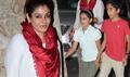 Raveena Tandon Snapped With Kids At Bangistan Screening