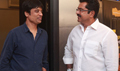 S J Surya And Sarathkumar At Bench Talkies Show