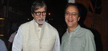 Amitabh Bachchan Snapped At Vidhu Vinod Chopra Office