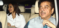 Sonakshi Sinha And Shatrughan Sinha Snapped At Brothers Screening