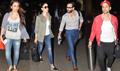 Saif, Kareena, Kunal And Soha Leave For Sri Lanka Vacations