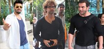Hrithik, Arjun Kapoor And Others Snapped At Domestic Terminal