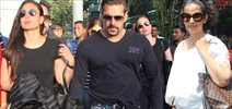 Salman, Kareena And Manisha Snapped At Airport