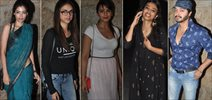 Huma Qureshi, Aditi Rao Hydari And Others Watch Ok Kanmani