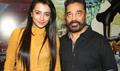 Kamal Haasan And Trisha At Cheekati Raajyam Movie Press Meet