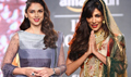 Chitrangada & Aditi Rao Hydari Walk For Debarun Press At AICW 2015