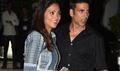Akshay Kumar And Lara And Land Back In Mumbai Post Delhi Promotions Of SIB
