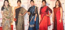 Shaina NC, Shilpa Shetty, Shruti Hasan, Mini Mathur And Shruti At Femina Designer Of The Year 2015
