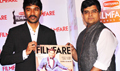 Dhanush & Jitesh Pillaai (Editor, Filmfare Magazine) At The Special Award Issue Launch