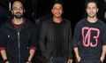 Shahrukh, Varun And Rohit Shetty Snapped At Dilwale Promotions