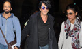 Shahrukh, Kajol And Rohit Shetty Depart For Dilwale Song Shoot In Iceland