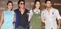 Dilwale Song Manma Emotion Launch With SRK, Kajol, Varun And Kriti