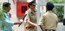 Tabu At Police Inspector Snapped On Drishyam Sets