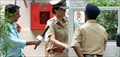 Tabu as Police Inspector - Snapped On Drishyam Sets
