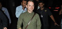 Elijah Woods Arrives In India