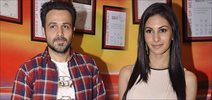 Emraan & Amyra promote Mr.X at Red FM