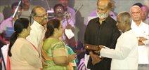 Super Star Rajinikanth At Maestro Ilayaraaja's 'Enullilulle MSV' Show