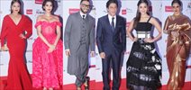 Shah Rukh Khan, Rekha, Ranveer Singh, Sonam Kapoor, Sonakshi Sinha, Alia Bhatt At The Filmfare Glamour & Style Awards 2015