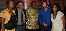Jonty Rhodes At First Rand Bank And South African Golf Bash