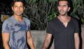 Farhan Akhtar And Ritesh Sidhwani Snapped At Friends House Party