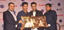 Karan Johar, Manish Malhotra At Filmfare Cover Launch