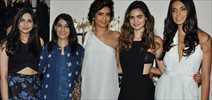 Sarah Jane And Karishma Tanna At Gabriel Fashion Preview