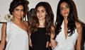 Sarah Jane And Karishma Tanna At Gabriel Fashion Preview