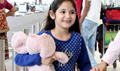 Baby Harshaali Snapped At Domestic Airport