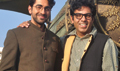 Ayushmann & Vibhu Puri At Hawaizaada Promotions