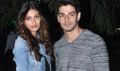 Sooraj And Athiya Snapped Returning From Ahmedabad Hero Promotions