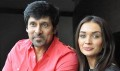 Vikram, Amy Jackson in Hyderabad