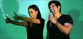 Vikram and Amy Jackson at Sandhya 35mm