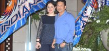 Sachin At Mumbai Indians IPL Win Bash At Ambani Residence