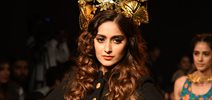 Ileana D'cruz walks for Sangria at LFW 2015