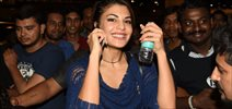 Jacqueline Fernandez Departs For Housefull 3 Shoot In London