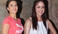 Jacqueline And Yami At Bangistan Screening By Pulkit Sharma