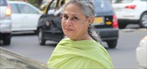 Jaya Bachchan visits Samovar Cafe in Mumbai
