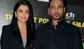 Aishwarya And Irfan At Jazbaa Delhi Media Meet