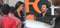 Aishwarya & Irfan Khan Shoot For Jazbaa