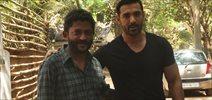 John Abraham Snapped With Nishikant Kamat