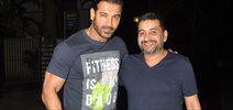 John Abraham Snapped With A Friend In Bandra