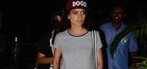 Kangna Ranaut Snapped At Domestic Airport