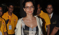 Kangna Snapped Returning Back From New York
